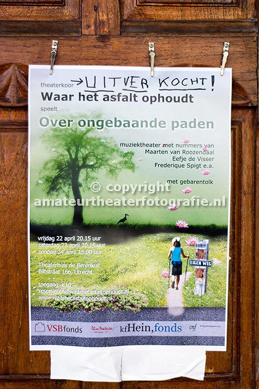 1. Over ongebaande paden. Waar Het Asfalt Ophoudt. 23-04-2016