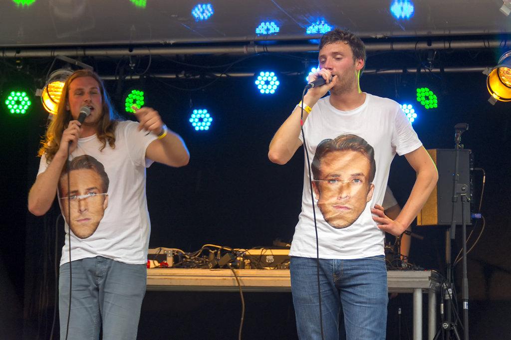 14. UvA - Summer Festival Roeterseiland. T Vlaggenschip