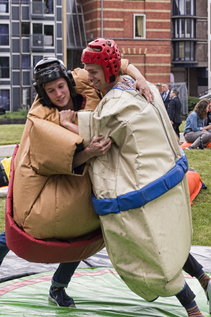 2. Summer Festival Roeterseiland - Sumo wrestling