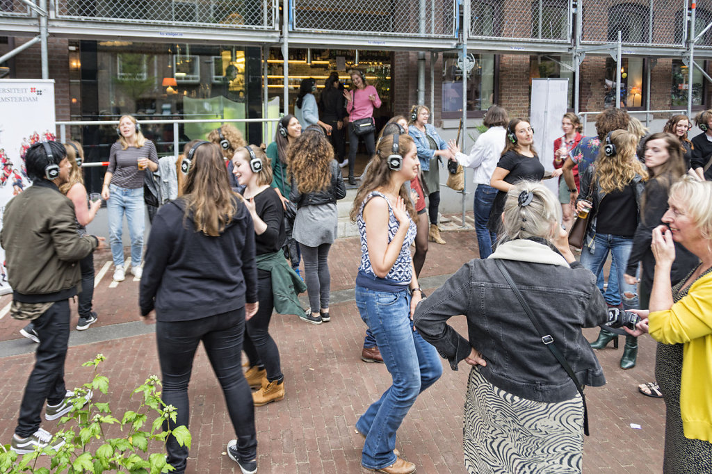 16. Summer Festival Roeterseiland - Silent Disco